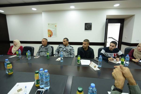 صندوق النفقة الفلسطيني يعقد ورشة توعوية بالشراكة مع جهاز الضابطة الجمركية
