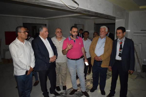 السفير دبور وأبو العردات  يطلّعا على آخر التطورات في مستشفى الهمشري