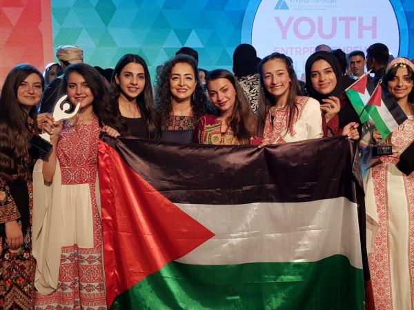 """""""دار الطفل العربي"""" أول مدرسة مقدسية تحصد جائزة أفضل شركة طلابية ريادية"""