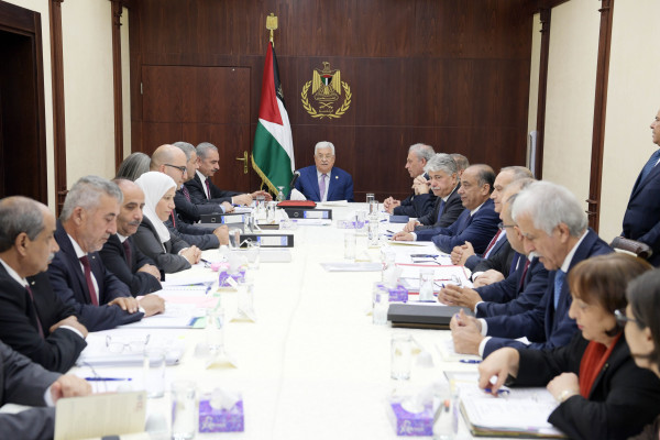 الرئيس عباس: سنبدأ حوار وطني شامل بعد إصدار مرسوم الانتخابات
