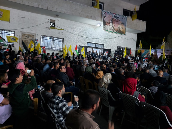 حركة فتح في مخيم الدهيشة تحيي الذكرى 15 لرحيل ياسر عرفات