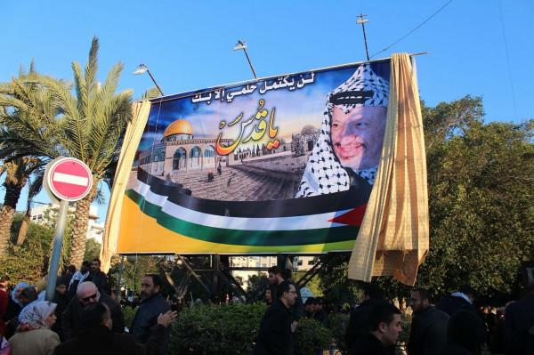 شاهد: الفلسطينيون يستذكرون الراحل عرفات بأجمل مواقفه