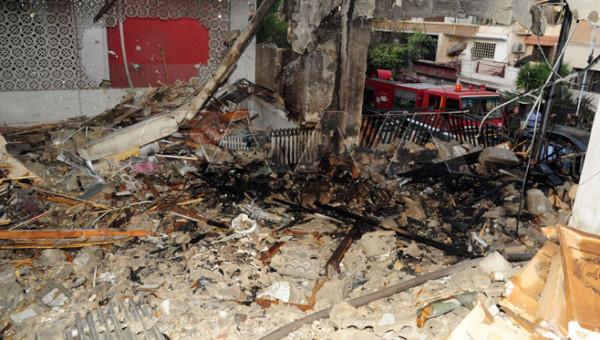 شهيدان وست إصابات جراء قصف الاحتلال الإسرائيلي لمبنى سكني بسوريا