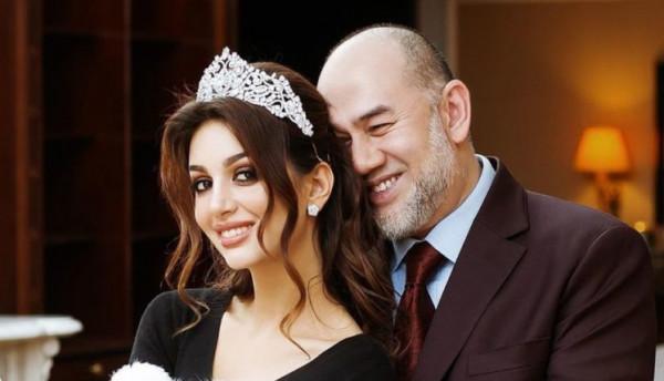 لقطات نادرة لحفل زفاف ملك ماليزيا السابق والحسناء الروسية