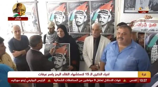 هدى عليان تؤكد مواصلة شعبنا مسيرة الرئيس الشهيد أبوعمار حتى الحرية