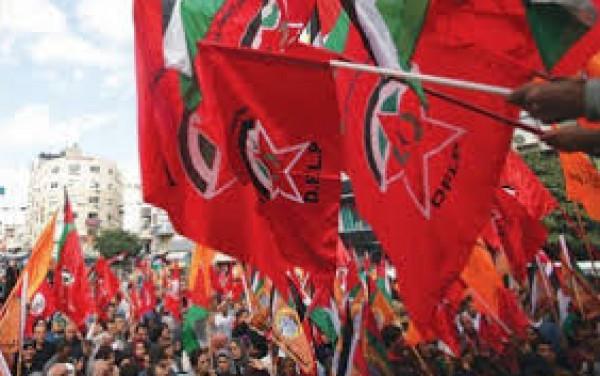 الديمقراطية: تدعو لمؤازرة العيساوية في مواجهة الاحتلال