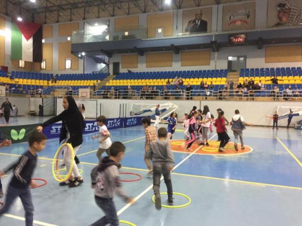 بلدية الخليل تطلق أسبوعها الرياضي الثاني
