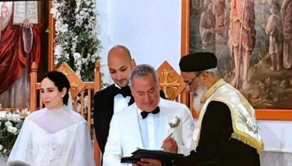 فستان زفاف محتشم.. الصور الأولى من زواج ابنة سميح ساويرس