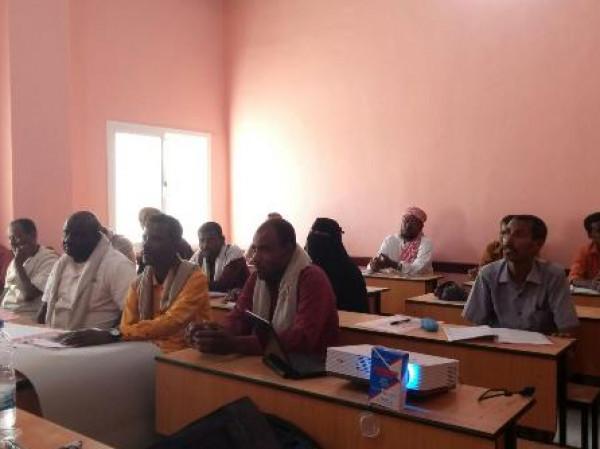 تنفيذ دورة تدريبية لمعلمي وأمناء المختبرات على مستوى مدارس مديرية بروم ميفع