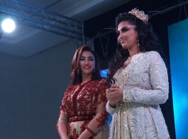 خبيرة التجميل المغربية سعيدة ميري تتألق في مهرجان الحلاقة وتزيين العرائس