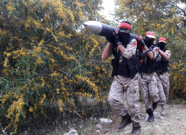 كتائب المقاومة الوطنية تقصف مستوطنات الاحتلال
