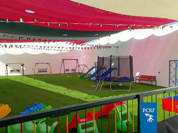 افتتاح حديقة آمنة لذوي الإحتياجات الخاصة في جنين