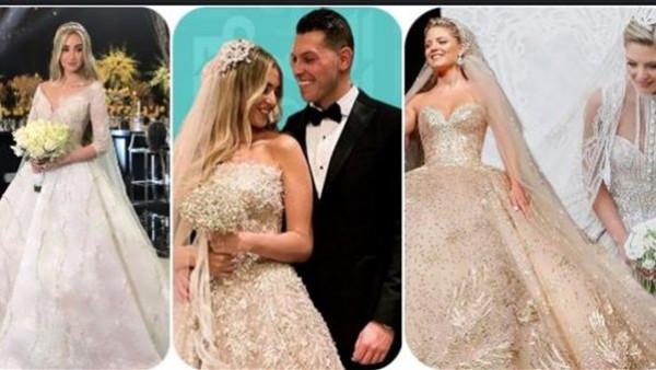 أبرزهن هنا الزاهد.. استوحي فستان زفافك من إطلالات عرائس 2019
