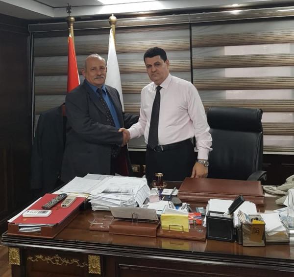 الشيوخي يلتقي رئيس جهاز حماية المستهلك المصري لبحث التعاون المشترك