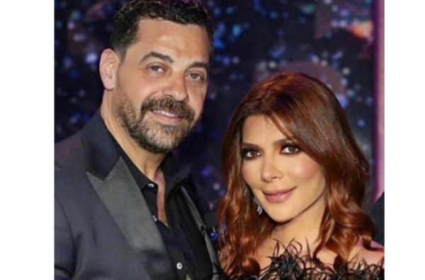 تعليقات أصالة على المسرح تعزز أنباء انفصالها عن زوجها المخرج طارق العريان