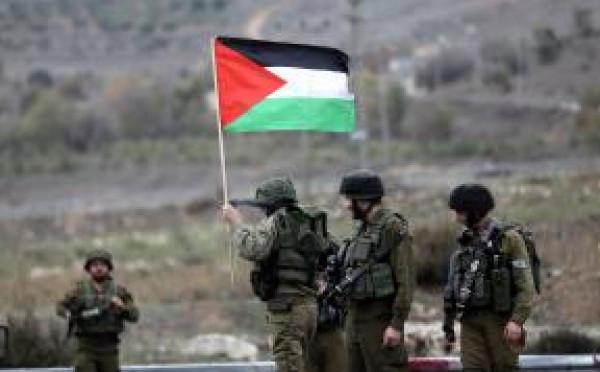 المحافظ كميل يصدر تعليماته للشؤون المدنية بالتدخل لارجاع علم فلسطين بعد سرقته