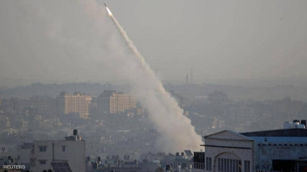 مشاهد لآثار الصواريخ التي أطلقتها المقاومة على المستوطنات خلال العدوان