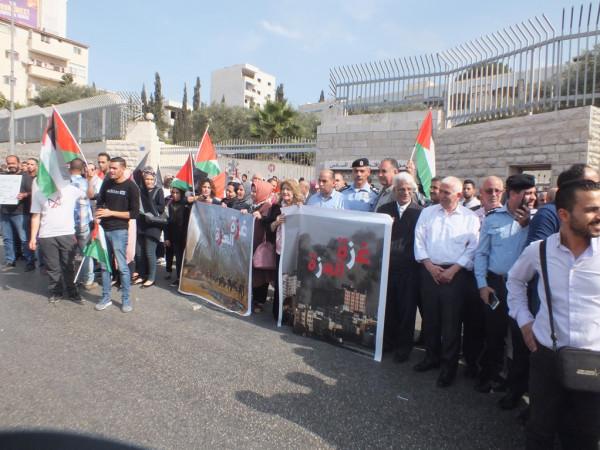 إصابة 30 مواطناً بينهم مسعفون بالاختناق بمواجهات مع الاحتلال في بيت لحم