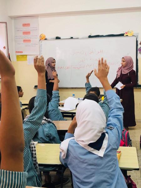 """القمر تطلق """"المواطن الصغير"""" في 6 مدارس في محافظة اريحا"""