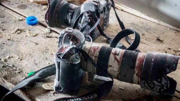نقل المصور الصحفي عمارنة إلى مستشفى الجمعية العربية في بيت جالا