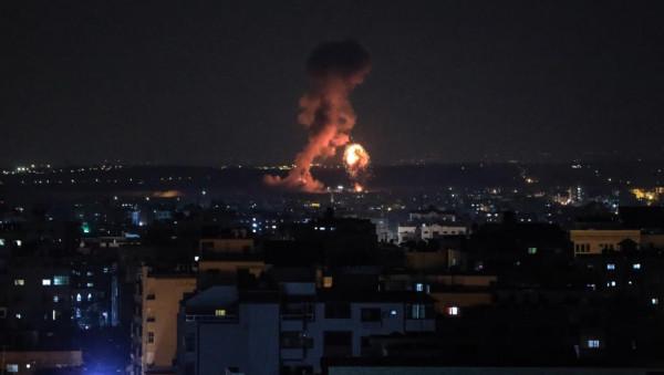 فجراً.. الاحتلال يقصف مواقع للمقاومة شمال قطاع غزة