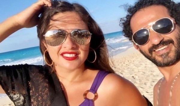 شاهد: أحمد حلمي يقتحم كاميرا ياسمين عبد العزيز ويغضبها