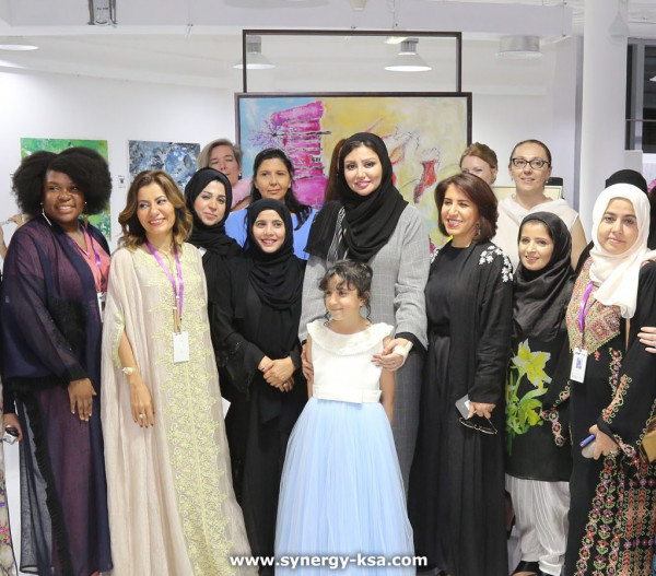 """رئيسة سنيرجي """"عالية الدقس"""": 17 سعودية تشارك في معرض """"برشلونة"""""""