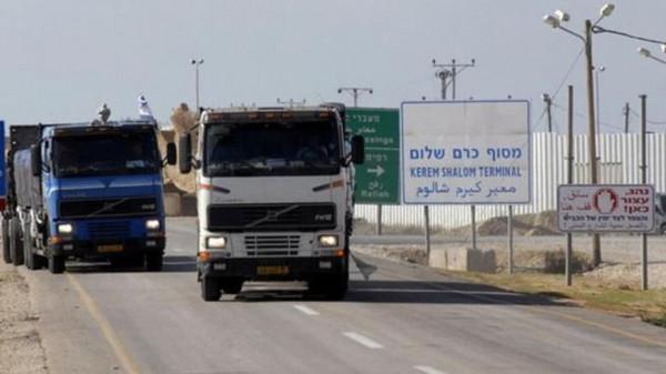 سلطات الاحتلال تُقرر فتح معبري (إيرز) و(كرم أبو سالم) وتوسيع مساحة الصيد