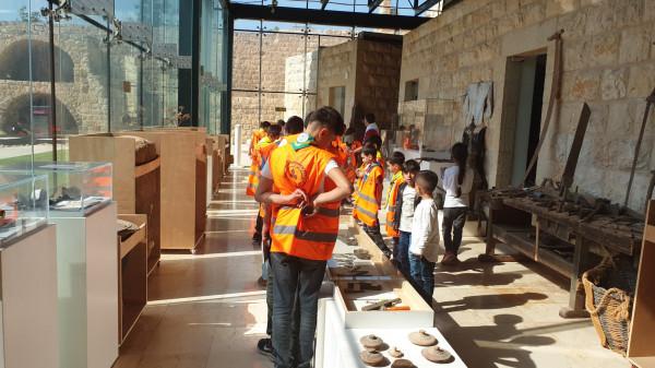 اللجنة الثقافية في المجموعة تنفذ رحلة ثقافية ترفيهية الى متحف الديناصورات