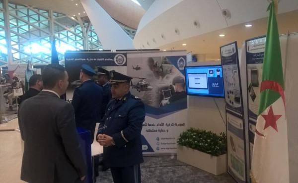 الأمن الوطني يعرض الوسائل الحديثة والتطبيقات الذكية