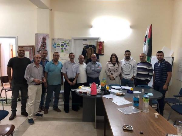 اجتماع تأسيسي لنقابة العاملين في خشب الزيتون والتحف الشرقية في بيت ساحور