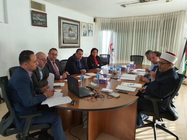 الهيئة العليا للرقابة الشرعية تعقد اجتماعها الاول في مقر هيئة سوق رأس المال