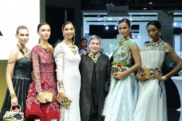 معرض دبي الدولي للمجوهرات 2019 يختتم فعالياته