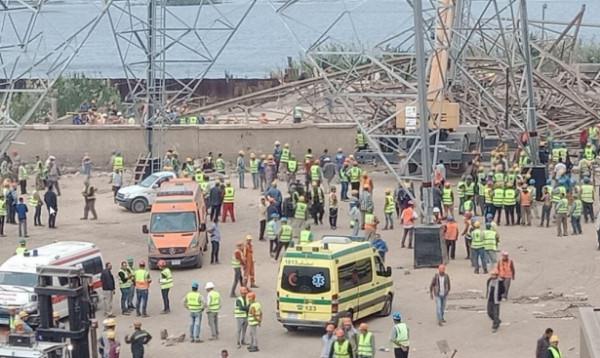 قتلى وجرحى في انهيار برج كهرباء بمصر