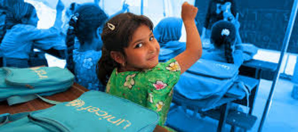 """""""يونيسف"""": تقدم في حقوق الطفل في الشرق الأوسط وشمال إفريقيا"""