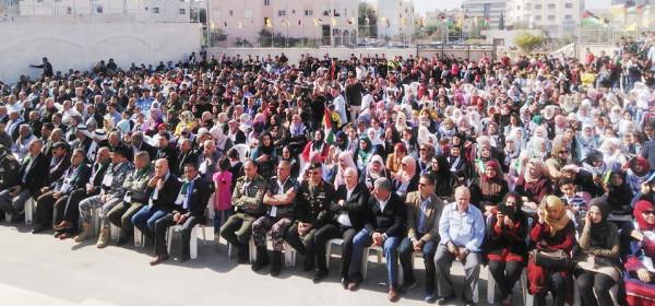 إقليم سلفيت تحيي ذكرى الشهيد عرفات وإعلان وثيقة الإستقلال