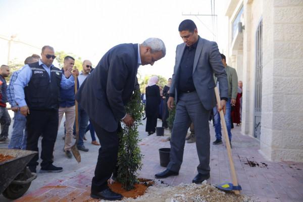 افتتاح شارع القدس المفتوحة كشارع صديق للبيئة