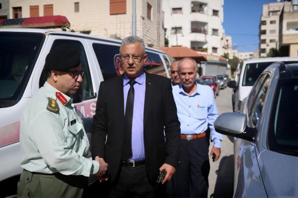 أبو بكر يتفقد مديرية الخدمات الطبية العسكرية بطولكرم