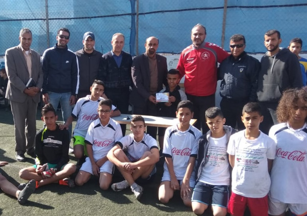 تربية ضواحي القدس تختتم بطولة كرة القدم للمرحلة الاساسية العليا بالمنطقة الشرقية