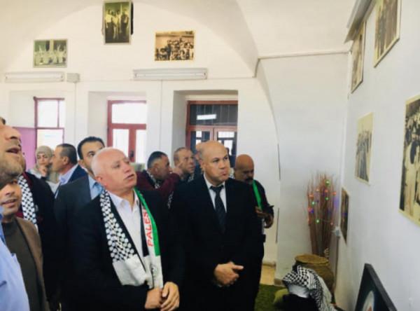 افتتاح معرض صور للشهيد ياسر عرفات في سلفيت