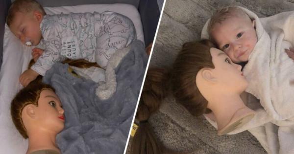 حيلة لنوم رضيع حوّلت حياة أمه إلى جحيم.. حكاية رأس التمثال