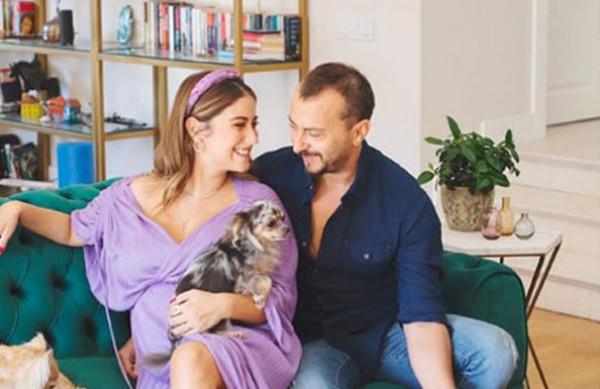 النجمة التركية هازال كايا تضع مولودها الأول وتختار له هذا الاسم