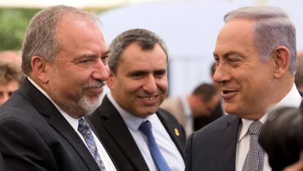 نتنياهو وليبرمان يتفقان على مواصلة جهود تشكيل حكومة وحدة