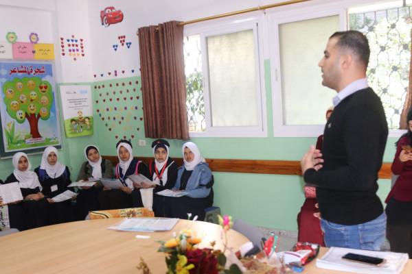 جمعية نور المعرفة تستقبل وفداً من طالبات مدرسة العروبة الثانوية للبنات