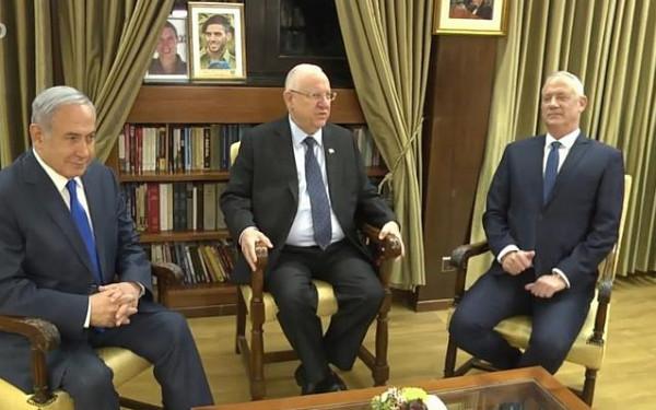 قبل يوم من انتهاء التفويض.. نتنياهو وغانتس يلتقيان الليلة لحل أزمة تشكيل الحكومة