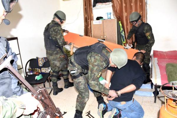 المؤسسة الأمنية في سلفيت تجري تمريناً تراكمياً متعدد المستويات بمقر قيادة المنطقة