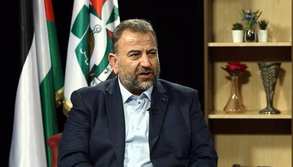 العاروري: الاتصالات مع الجهاد لم تنقطع سياسيًا وعسكريًا.. وسَنُسلّم الرد الخطي حول الانتخابات للرئيس