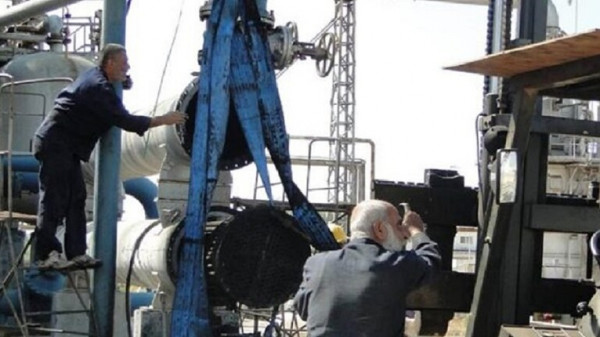 عودة عمل جميع أقسام الإنتاج السورية في مصفاة بانياس بعد الانفجار