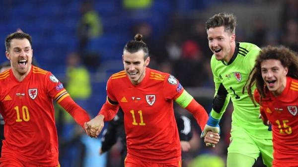 شاهد: بيل يستفز ريال مدريد خلال احتفاله بتأهل ويلز إلى (يورو 2020)