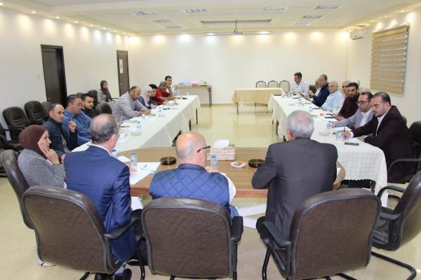 غرفة تجارة وصناعة وزراعة قلقيلية تنظم لقاءً مع أصحاب المشاريع والشركات الزراعية